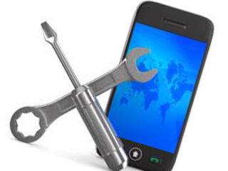 Diagnostica și reparația telefoanelor. Garantie.