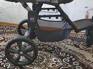 Продаю б/у коляску (4 компонента) Cam Cortina Evo x3+1 - трехколесный внедорожник