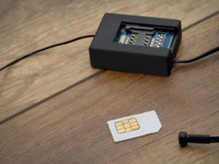 Audio tracker gsm 2 microfoane. Аудио трекер с сенсором звука и автодозвоном