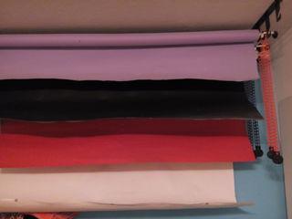 Продаю бумажные фоны, крепления, зонты, стойки для вспышек