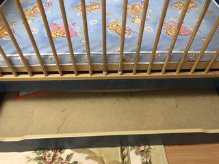 Продам детскую кроватку б/у в хорошем состоянии