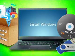 Установка Windows,программ, качествено, Выезд на Дом! Instalarea Windows, Programe, calitativ!!