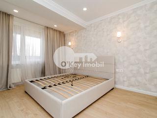Centru! 2 camere+living, reparație calitativă, 87 mp, Melestiu - Valea Trandafirilor 83000 €