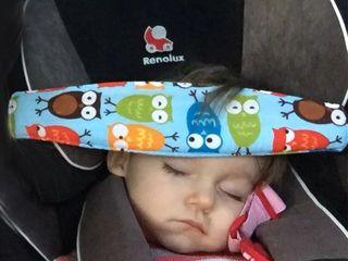 Повязка-ремень для сна в автокресло