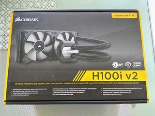 Система водяного охлаждения Corsair H100i v2