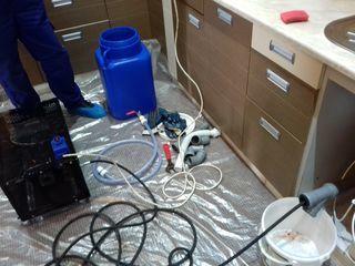 Чистка канализации на кухне ! Качественно и гарантия !