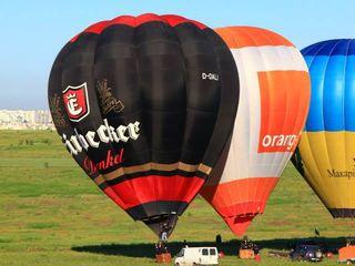 Полет на воздушном шаре над Кишиневом,Zbor cu balonul in moldova.Cererea in casatorie