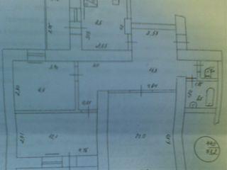 Продаем 3-комнатную квартиру в г.Рыбница по ул.Вальченко с шикарным видом на р.Днестр=$11990