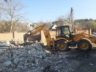 Servicii demolare- excavare-evacuare.