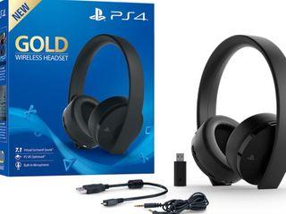 Игровые наушники Sony Playstation Gold Wireless Headset