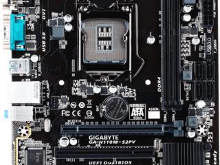 Gigabyte GA-H110M-S2PV+CPU i3-7100
