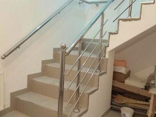 Перила и ограждения из нержавеющей стали и алюминия / Balustrade din inox și aluminiu