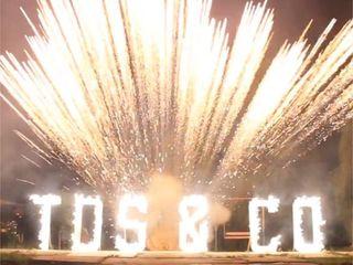Litere de foc, пиротехнические буквы