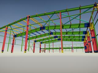 Proiectare structuri metalice / проектирование металлических конструкций.