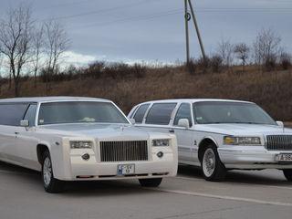 150 euro toata ziua limuzina Lincoln 8 locuri