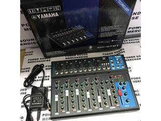 Yamaha MG -  07 BT  Fx Mixer  Pasiv cu Efecte rever + dilay, Bluetooth, Flashca ,   -   2500 lei !!!