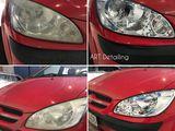 Lustruirea farurilor auto .Aplicarea protecției nano ceramică.Lustruire parbriz