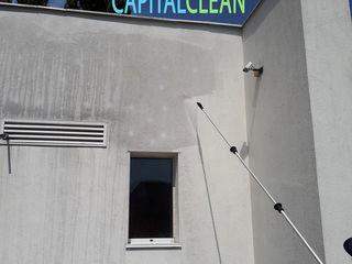 Servicii curatare ferestre si fatade, Mойка и чистка фасадов и окон на высоте