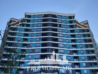 Rîșcani! 3 camere cu  living, autonomă, 2 terase spațioase! 91 mp!