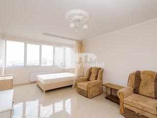 Apartament 1 cameră, reparație euro, Centru, 37500 €