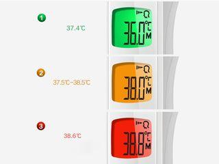 Termometru fara contact exact cu garantie Термометр бесконтактный с высокой точностью и гарантией