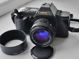 Ф-т Canon t70; Canon fd 20-35 mm f3.5 l;Canon fd50 mm f/1.4; Minolta dynax af 5000kit;шир.Koroll II