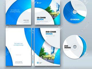 Услуги нанесения полноцветных изображений высокого разрешения на CD/DVD-диски.