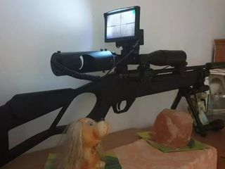 Установки ночного виденья! дистанция +250 метров+для оружия и охоты