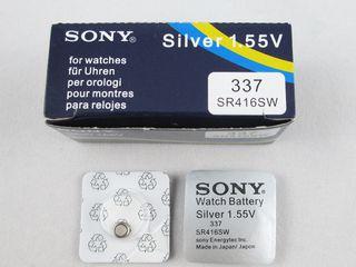 Baterie pentru microcasti / Батарейка для микронаушник Sony / Varta /Original