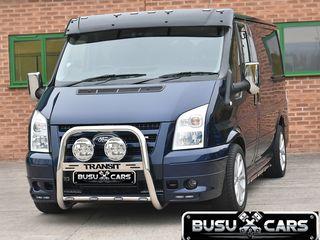 Kенгурятник / bara de protectie fata inox Ford Transit 2007 - 2013