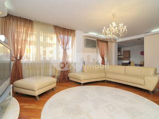 Apartament cu 3 camere, 130 mp, reparație euro, Centru, 600 € !