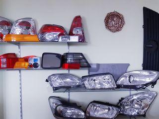 Фары, фонари, стекла, противотуманки, поворотники на различные модели