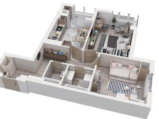 Atenție! Apartamente cu 1x 2x 3x odăi.