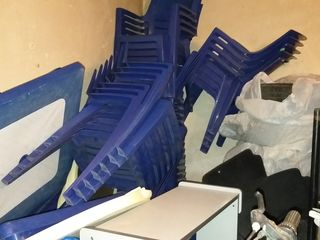 Mese,scaune din plastic