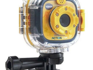Vtech-kidizoom-action-cam-yellow-black-yellow-new 30$