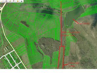 Se vinde teren arabil 2km de la traseul Vadului Voda, 8km de la Chisinau