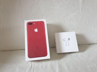 Коробка Iphone 7 Plus Red 128gb