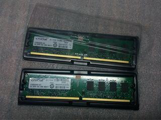 Crucial DDR2 4GB(2*2GB)  парные