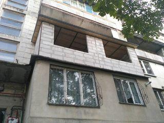 Balcoane. Alungirea balconului, demolarea. Renovarea și extinderea balcoanelor și loggii.
