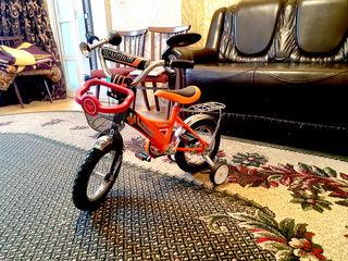 Детский велосипед 12'' практически новый