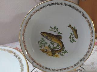 Тарелки для подачи рыбных блюд