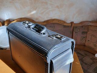 Шикарный портфель дипломат широкий с кодовыми замками