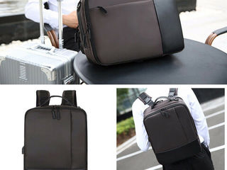 Rucsac / premium anti-theft laptop backpack with usb port