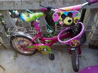 Продам детский велосипед от 4 до 7 лет