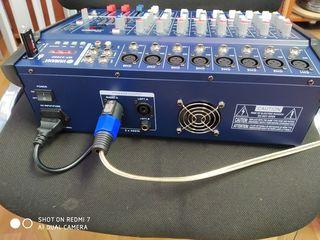 Amplificator 800 W , flash, bluethooth, 190 euro