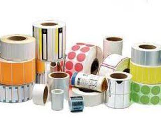 Этикетка ,стикеры ,самоклейка,самоклеющиеся материалы в ассортименте,полиграфия и оборудование.