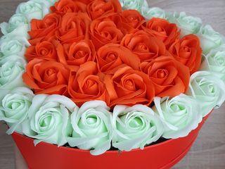 Flori de sapun - Aranjament cadou