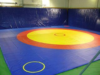 спортивное оборудование, борцовские ковры, спортивные маты, боксёрские ринги