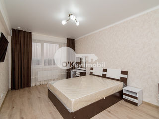 Apartament 1 cameră, reparație euro, bloc nou, Buiucani, 260 €