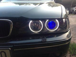 Ремонт криплении фар на BMW E39-E38-E60-E65 E70 X5 f10 f01.